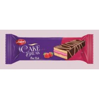Layer Cake  Cu Capsuni Invelit In Cacao 25 g